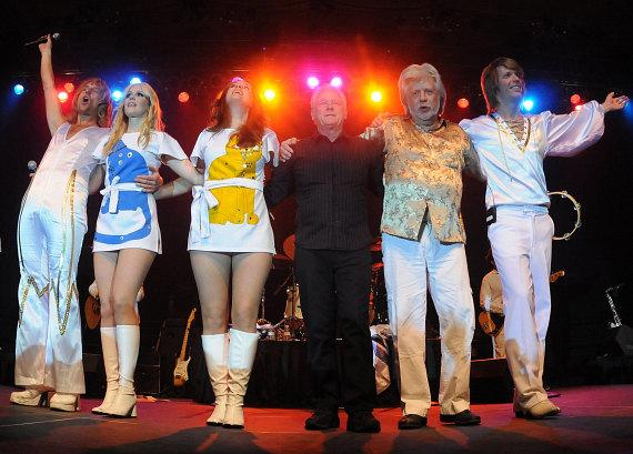 ABBA The Concert performs at the Eastside Cannery Casino Hotel