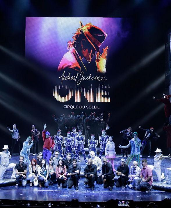 Michael Jackson ONE World Premiere at Mandalay Bay Resort & Casino June 29
