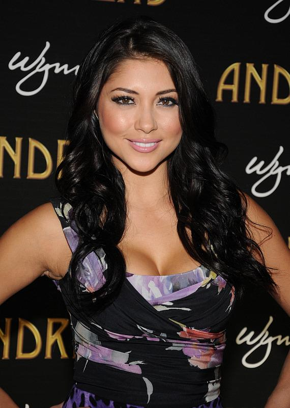 Arianny Celeste at Andrea's Grand Opening in Las Vegas