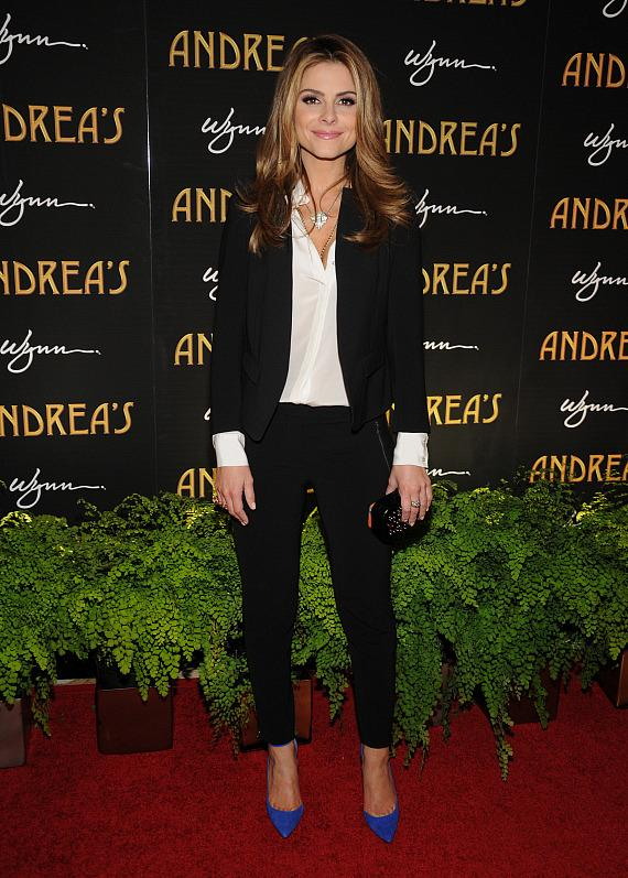 Maria Menounos at Andrea's grand opening in Las Vegas