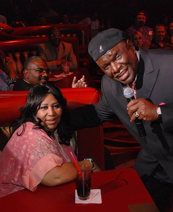 Aretha Franklin and George Wallace