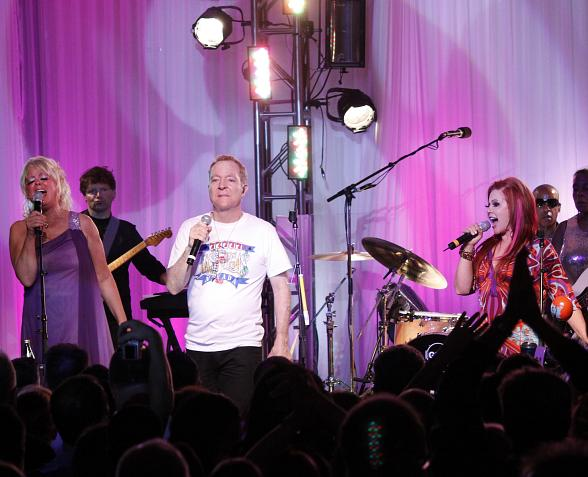 The B-52s perform at PURE Nightclub