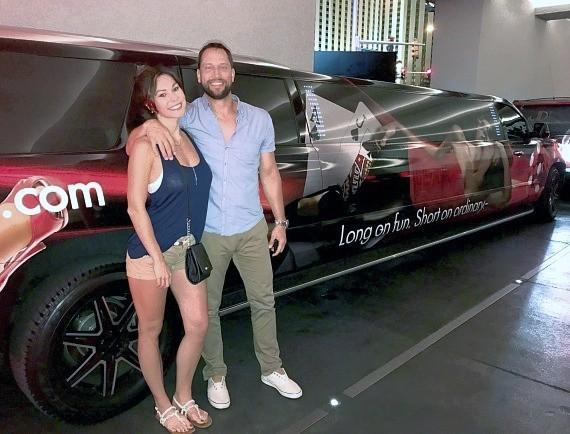 """Bachelor Pad"" winner David Good finds love with Biranna Alise at The D Casino Hotel Las Vegas"