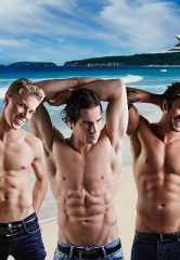 "Hip-Hop Male Revue ""Aussie Hunks"" move to V Theater inside Miracle Mile Shops at Planet Hollywood Resort & Casino"