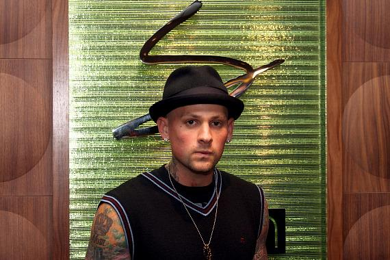 Benji Madden at Simon at the Palms Palms Place (Photo credit: Sarah Feldberg)