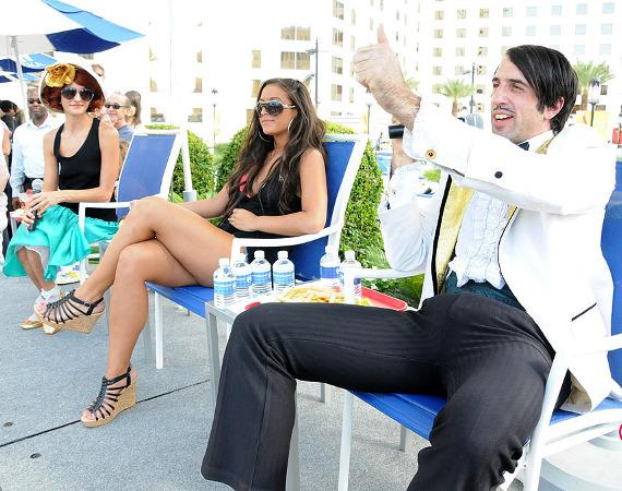 """Judges: Penny Pibbets, Sammi """"Sweetheart"""" Giancola and The Gazillionaire"""