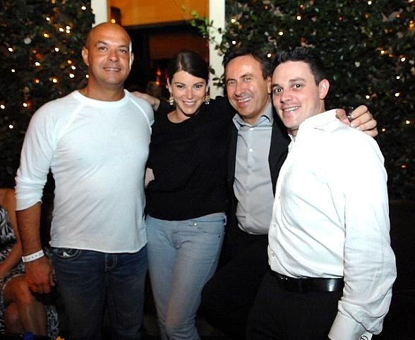 Top Chefs Tom Colicchio, Gail Simmons, Daniel Boulud, Gavin Kaysen at Blush