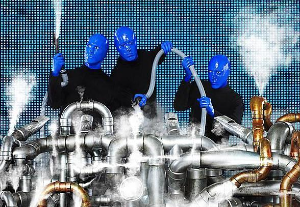 Blue Man Group to hold National Open Auditions at Monte Carlo Resort and Casino May 27