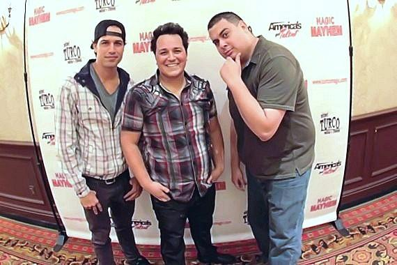 BMX Pro Ricardo Laguna, Michael Turco and Robert Blasi from Hook Jaw Net Radio
