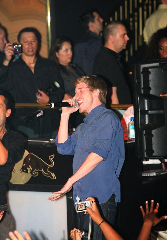 Asher Roth performs at Body English