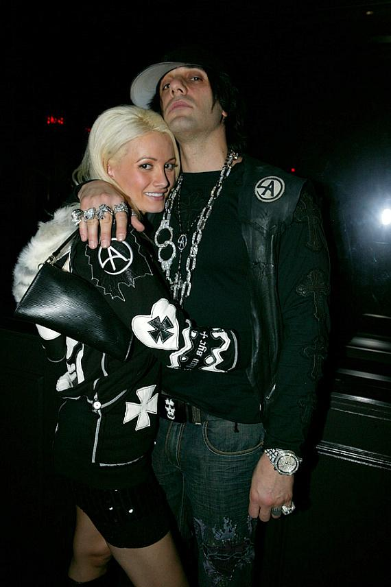 Holly Madison and Criss Angel at Body English  Photo credit  Hard Rock    Criss Angel Body