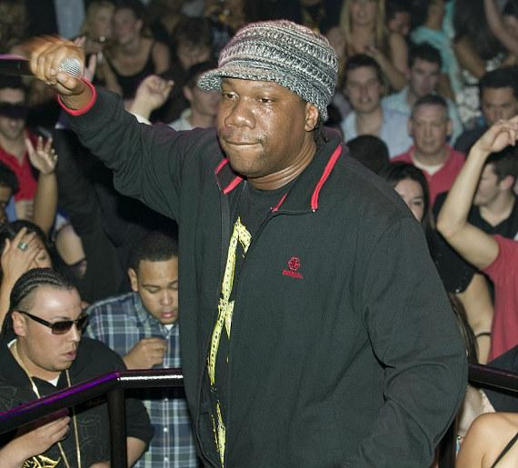 Hip-hop legend, KRS-One performs inside Wasted Space (Photo credit: Hard Rock Hotel & Casino)