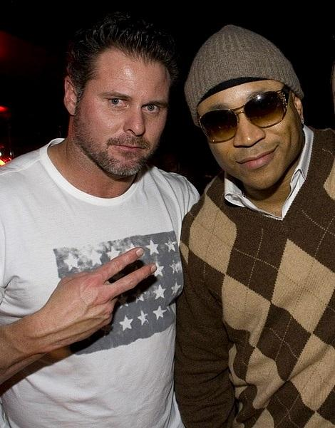 Jason Giambi and LL Cool at Body English (Photo credit: Hard Rock Hotel &amp; Casino)