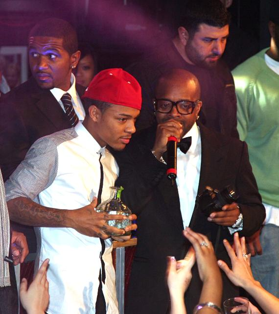 Bow Wow with Jermaine Dupri (Photo credit: Vic Bonadonna)