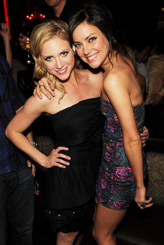 Brittany Snow and Jessica Stroup at TAO (Photo credit: Denise Truscello)