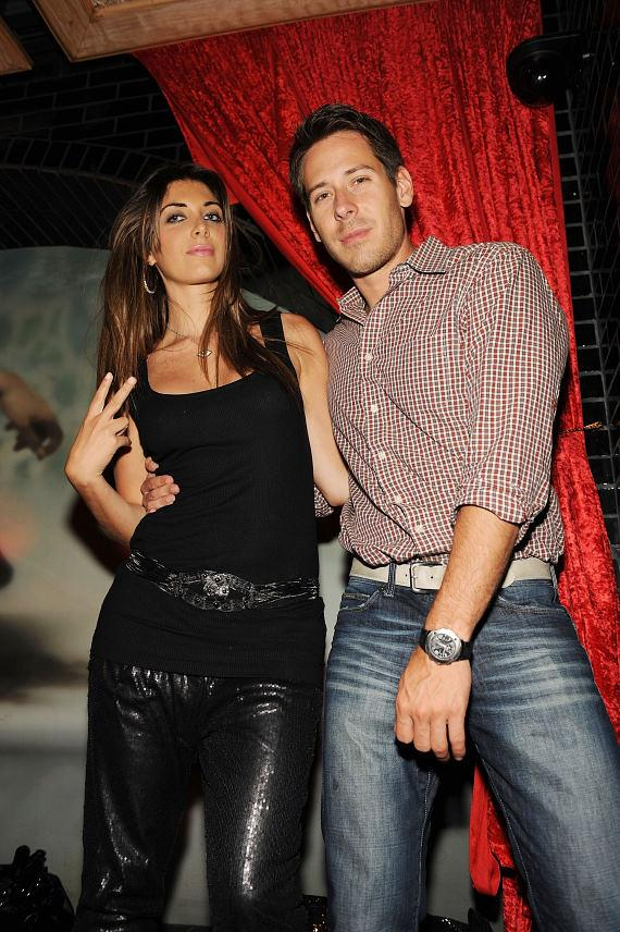 Brittny Gastineau & Jorge Perez at LAVO