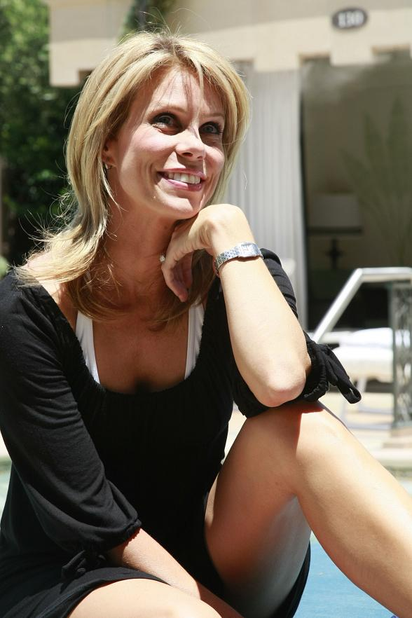 Actress Cheryl Hines at The Palazzo