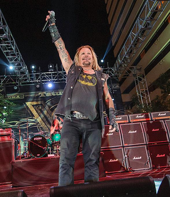 Vince Neil Launches New 3rd Street Concert Venue at Downtown Grand Hotel & Casino