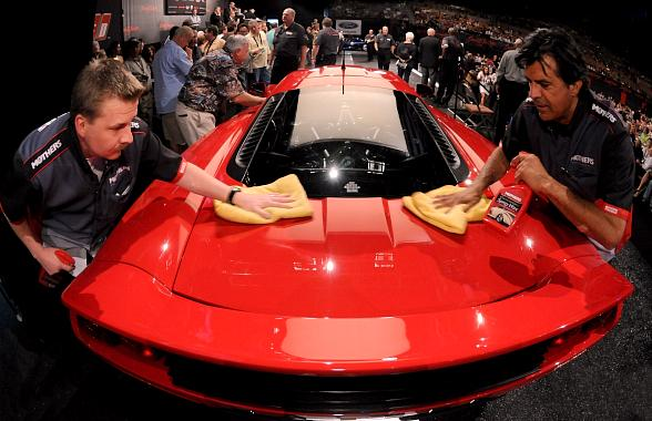 Collector Car Sales Exceed $29 Million at Inaugural Barrett-Jackson Event