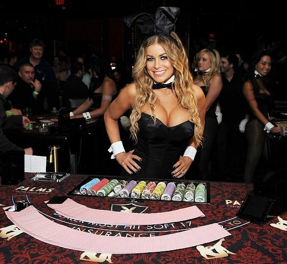 Carmen Electra at The Palms (Photo credit: Denise Truscello)