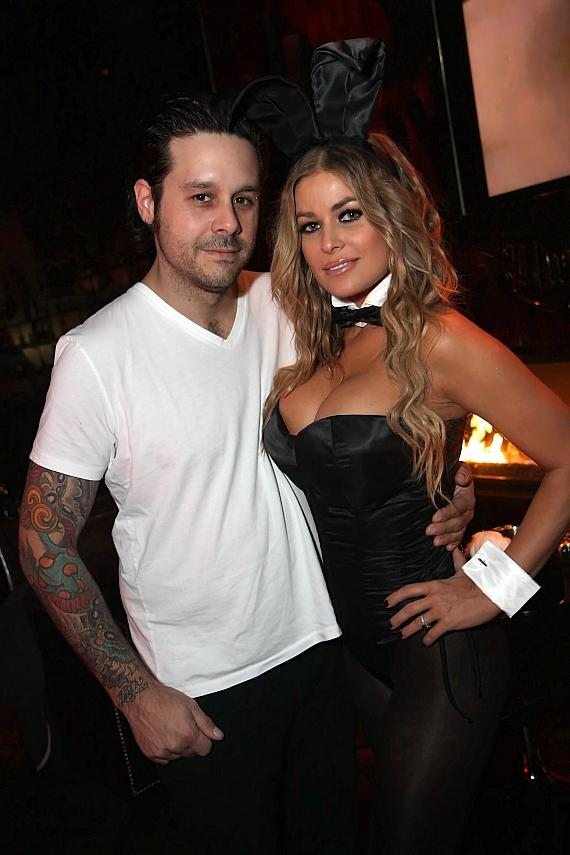 Carmen Electra deals Blackjack at The Palms (Photo credit: Joe Fury)