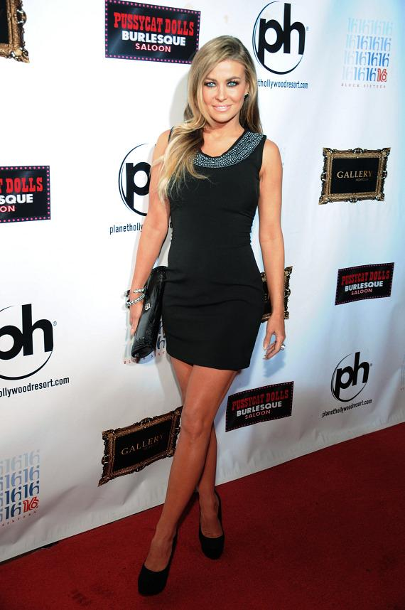 Carmen Electra at Gallery Nightclub