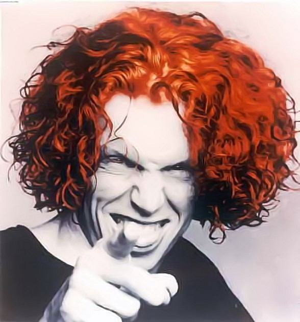 Comedian Carrot Top