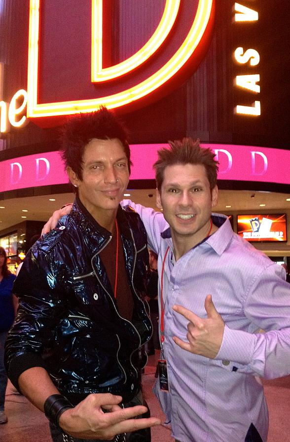 Mike Hammer and Cass Cates from Ashley Red at the D Las Vegas