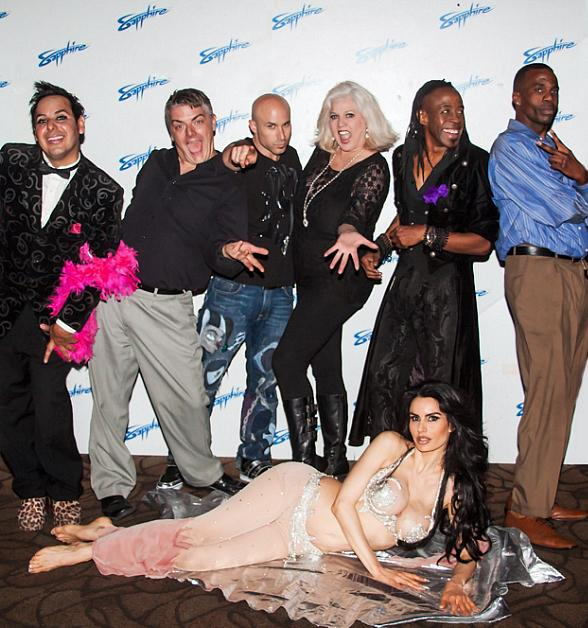 Cast of The Sapphire Comedy Hour at Sapphire Las Vegas