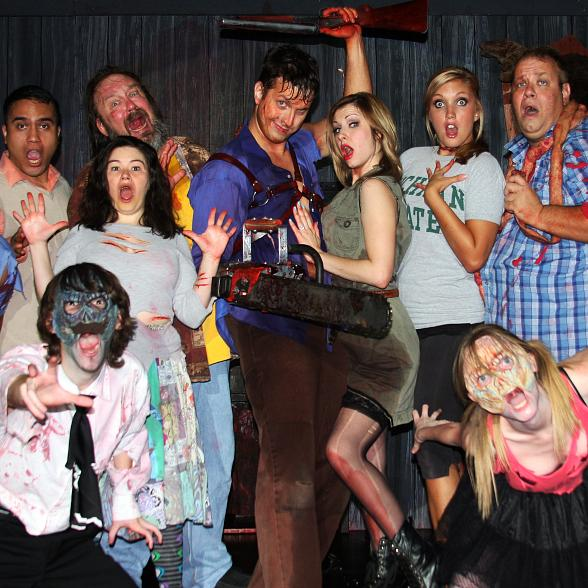 """Evil Dead The Musical"" Walks FRIGHT DOME Black Carpet for NVSPCA Oct. 3"