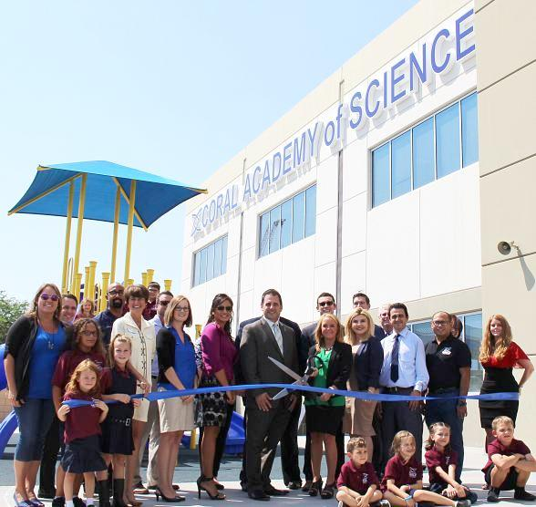 Coral Academy of Science Las Vegas Officially Opens New Centennial Hills Campus