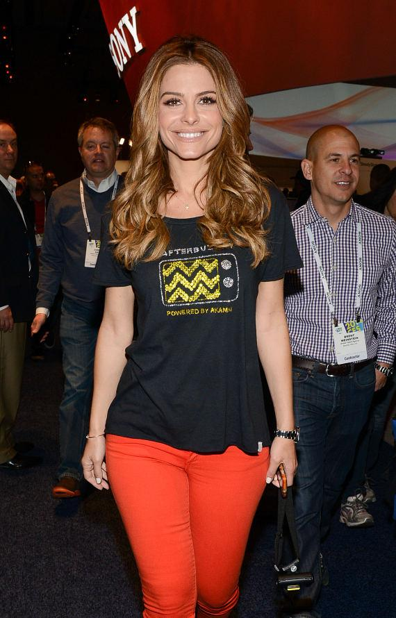 Maria Menounos arrives at 2014 Int'l CES in Las Vegas