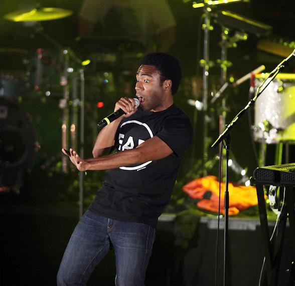 Childish Gambino performs at the Boulevard Pool at Cosmopolitan of Las Vegas