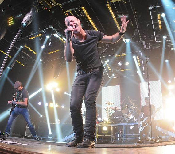 Chris Daughtry performs at Green Valley Ranch Resort in Las Vegas