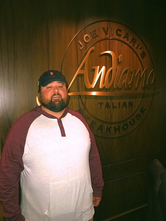 Chumlee of Pawn Stars at Andiamo at The D Las Vegas