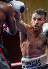 "Jim ""JR"" Ross calls the action as Demond ""Body Shot"" Brock fights Chuy ""El Huracan"" Gutierrez at ""Knockout Night at the D"""