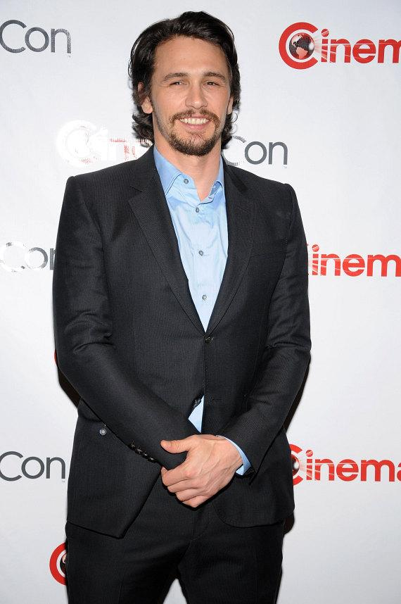 James Franco at CinemaCon 2012