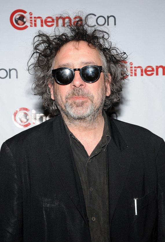 Tim Burton at CinemaCon 2012