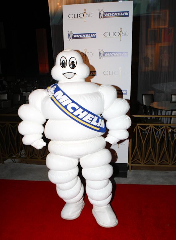 The Michelin Man at CLIO Awards