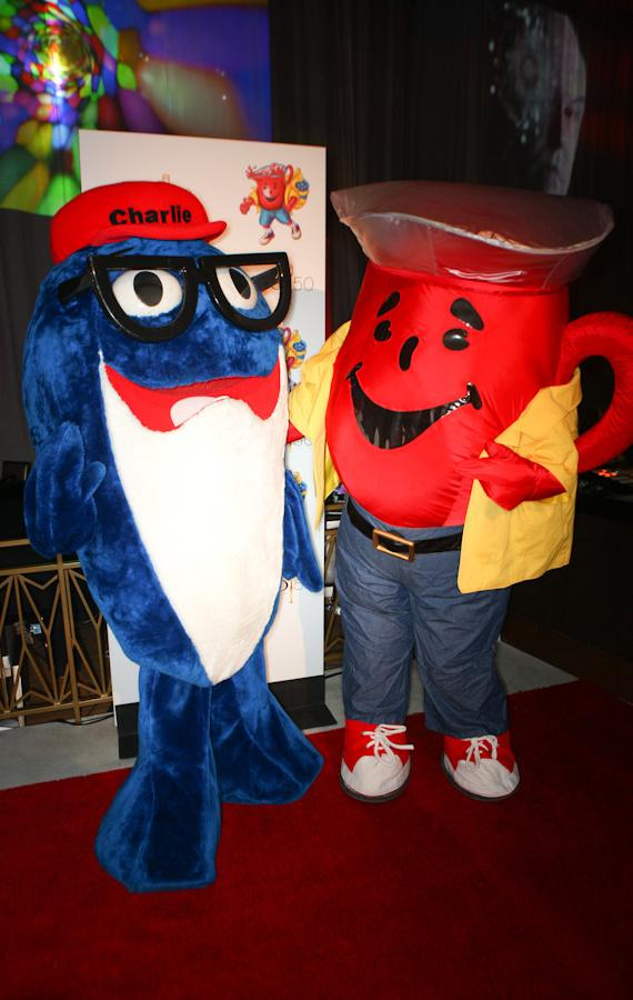 "StarKist's ""Charlie the Tuna"" and Kraft's ""Kool-Aid Man"" at CLIO Awards"
