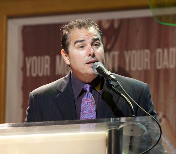 Christopher Knight hosted the event