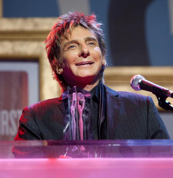Barry Manilow at CLIO Awards