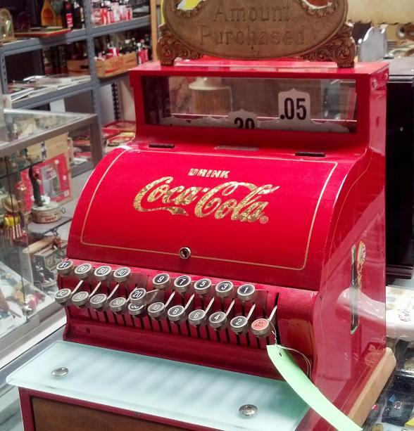 Coca Cola cash register