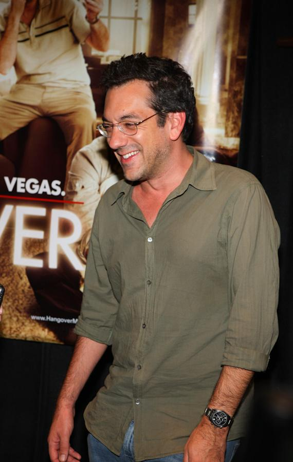 Director Todd Phillips at 'The Hangover' Poker Tournament at Caesars Palace