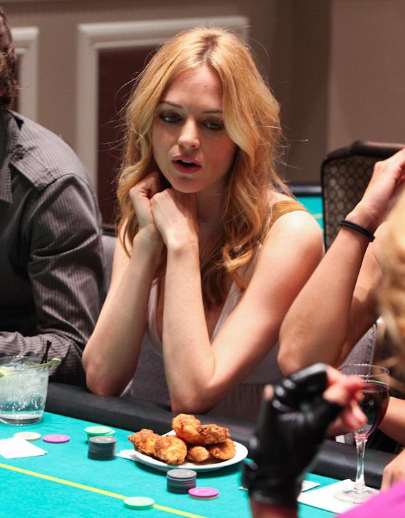 Bradley Cooper, Ed Helms, Heather Graham at 'The Hangover' Celebrity Charity Poker Tournament