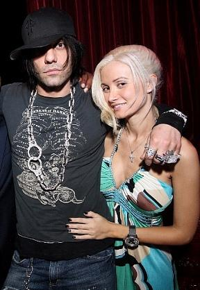 Criss Angel and Holly Madison at LAX (Photo courtesy of LAX Nightclub)