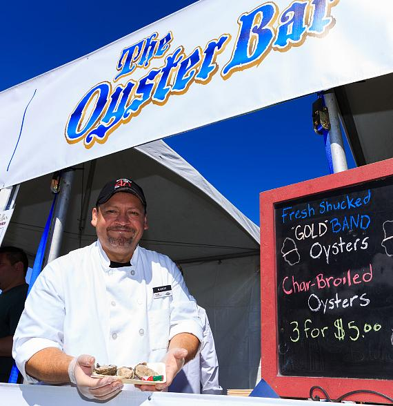 The Oyster Bar at DeCadence Food Festival in Henderson Saturday, September 23