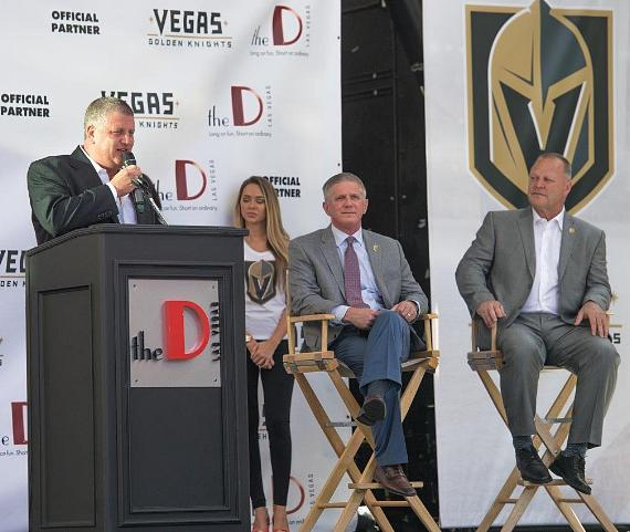 Derek Stevens announces 6-year Partnership with Vegas Golden Knights and the D Las Vegas