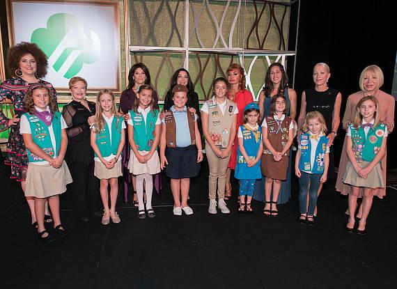 Dessert Before Dinner 2017 Honorees with their Mini-Mes
