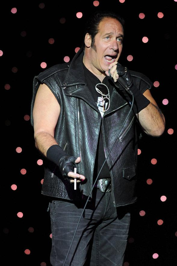 Comic legend Andrew Dice Clay performs at Riviera Hotel & Casino